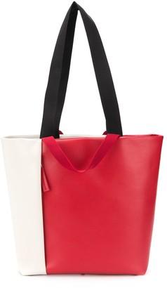 Plan C Colour Block Tote Bag