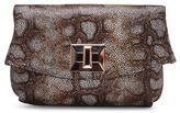 Donald J Pliner Women's TASSI - Cosmo Leopard Leather Clutch