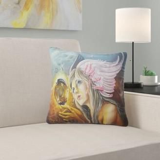 IDEA East Urban Home Abstract Birth of an Lumbar Pillow East Urban Home