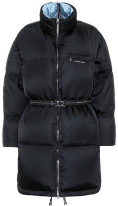 Prada Down puffer coat