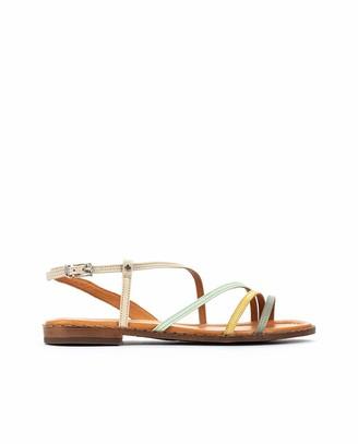 PIKOLINOS Leather Flat Sandals ALGAR W0X