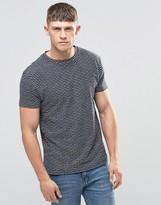 Bellfield Jaquard Striped T-Shirt