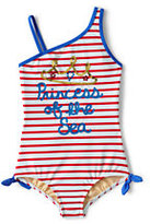 Classic Little Girls One Piece Swimsuit-Princess Of The Sea