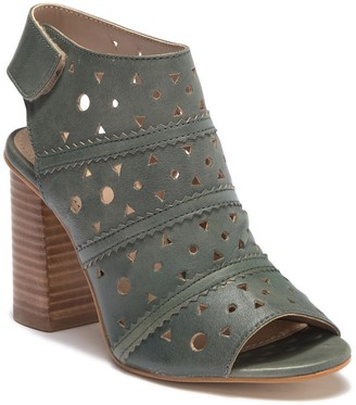 Rebels Geometric Perforated High Heel Sandal