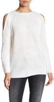 Fate Cold Shoulder Knit Sweater