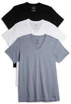 Calvin Klein Underwear Cotton Classic 3 Pack V Neck Tees
