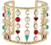Chanel Faux Pearl & Enamel Bracelet