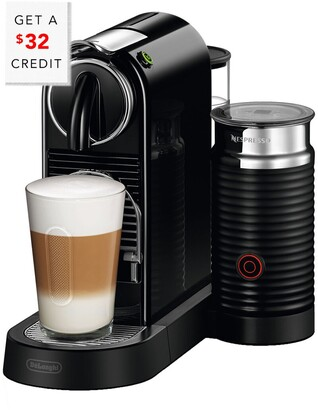 De'Longhi Nespresso Citiz & Milk Single-Serve Espresso Machine In Black