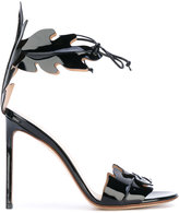 Francesco Russo 'Hill' sandals - women - Leather/Patent Leather - 36