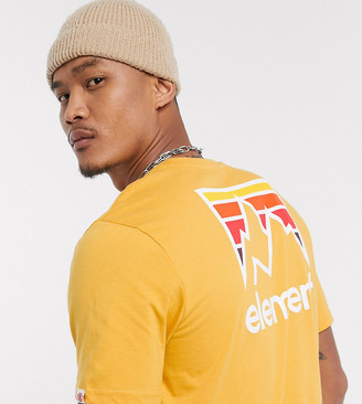 Element Joint t-shirt in yellow Exclusive at ASOS