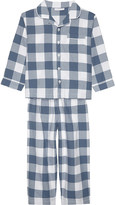 The Little White Company Flannel cotton pyjamas 3-4 years