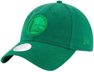 New Era Women's Kelly Green Golden State Warriors St. Patrick's Day Core Classic 9TWENTY Adjustable Hat