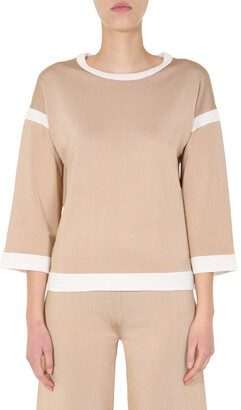 Boutique Moschino Two-Tone Knitted Jumper