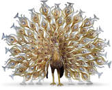 Jay Strongwater 20th Anniversary Limited Edition Golden Peacock Figurine
