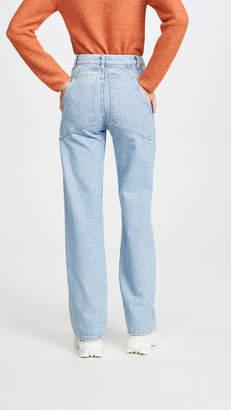 Eckhaus Latta Wide Leg Jeans