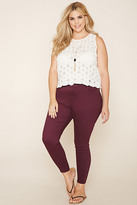Forever 21 FOREVER 21+ Plus Size Skinny Jeans