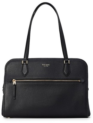 Kate Spade Large Polly Leather Work Tote