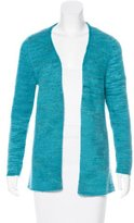 The Elder Statesman Cashmere Open Front Cardigan