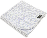 Kushies Cotton Flannel Receiving Blanket in Octagon Print