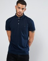 French Connection Pocket Polo with Contrast Polo