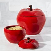 Crate & Barrel Apple Canisters