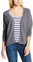 Vero Moda Women's V-Neck Long Sleeve Cardigan - Grey -