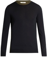 Valentino Colour-block Wool Sweater