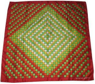 Ungaro Red Silk Silk handkerchief