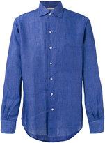 Loro Piana Andre ML Sahara Melange shirt - men - Linen/Flax - XXL
