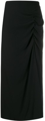 Colville Gathered A-Line Skirt