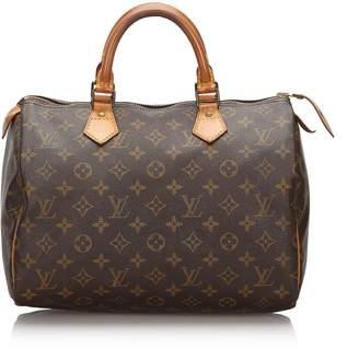 Louis Vuitton Brown Monogram Speedy 30