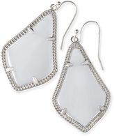 Kendra Scott Alex Silver Earrings in Slate
