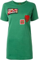 Mr & Mrs Italy multipatch T-shirt