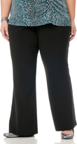 Motherhood Petite Plus Boot Cut Suiting Maternity Pants