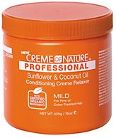 Crème of Nature Professional Sunflower & Coconut Oil Conditioning Mild Creme Relaxer