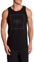 Hurley Front Graphic Logo Print Tank
