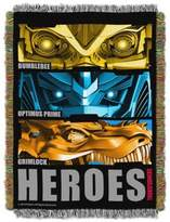 "Hasbro ""Transformers"" Hero Slash Tapestry Throw"