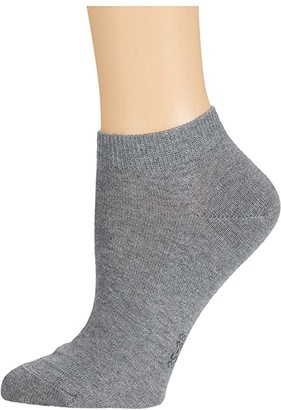 Falke Family Sneaker Sock (Light Grey Melange) Women's Crew Cut Socks Shoes