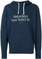 Saturdays NYC logo hoodie
