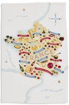 """Sur La Table Gourmande Map Kitchen Towel, 28"""" x 18"""""""