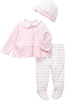 Little Me Ribbon Roses Take Me Home Set (Baby Girls)