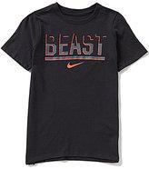 Nike Big Boys 8-20 Dri-FIT Beast Short-Sleeve Tee