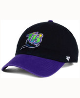 '47 Tampa Bay Rays Cooperstown CLEAN UP Cap
