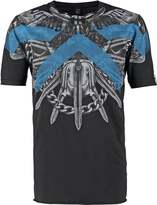 Replay Print Tshirt Black