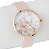 Merona Women's Marble Strap Watch Pink