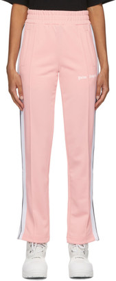 Palm Angels Pink Classic Track Pants
