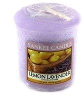 Yankee Candle Sample Votive Lemon Lavender Scented Candle