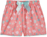 Max & Olivia Graphic-Print Pajama Shorts, Little Girls & Big Girls
