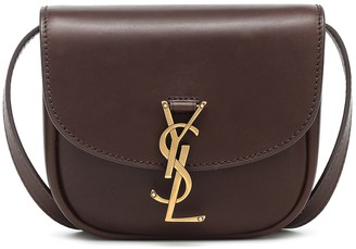 Saint Laurent Kaia Mini leather crossbody bag