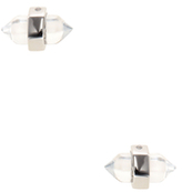 Rebecca Minkoff Raw Crystal Stud Earrings